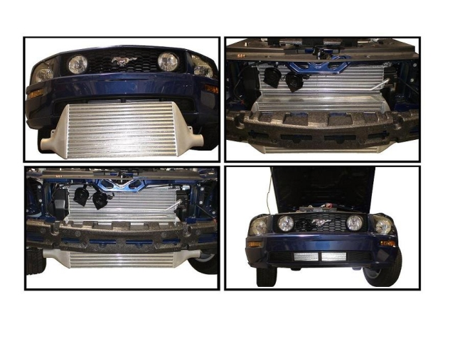 ATP Front Mount Intercooler, 900 HP (2005-2010 Mustang GT)