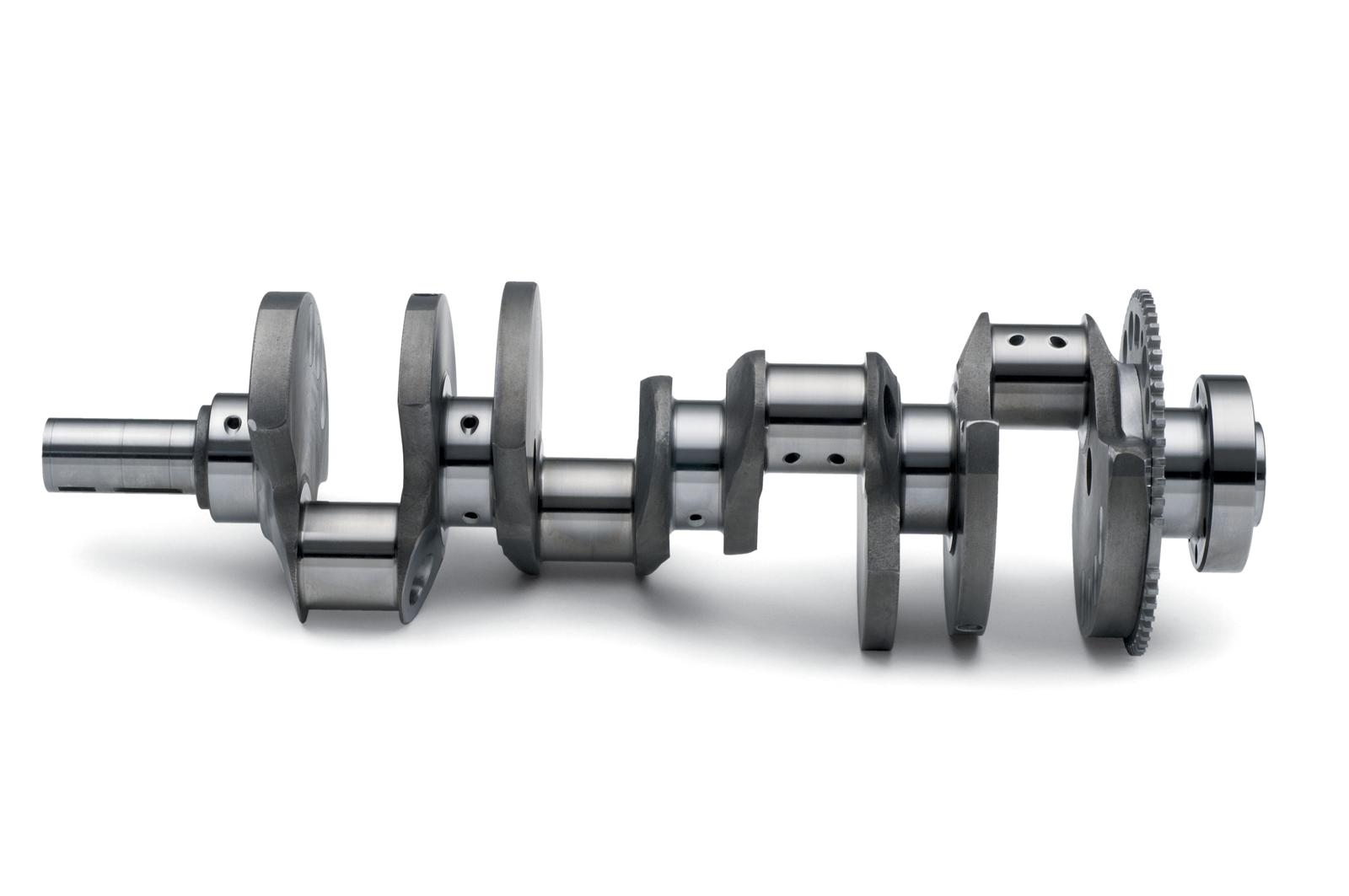 "Chevrolet PERFORMANCE LSX Crankshaft, 4.125"" Stroke"