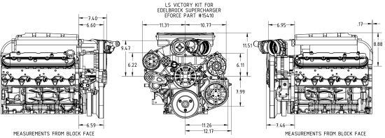 concept one chevrolet ls supercharger victory pulley kit concept one chevrolet ls supercharger victory pulley kit edelbrock 15140