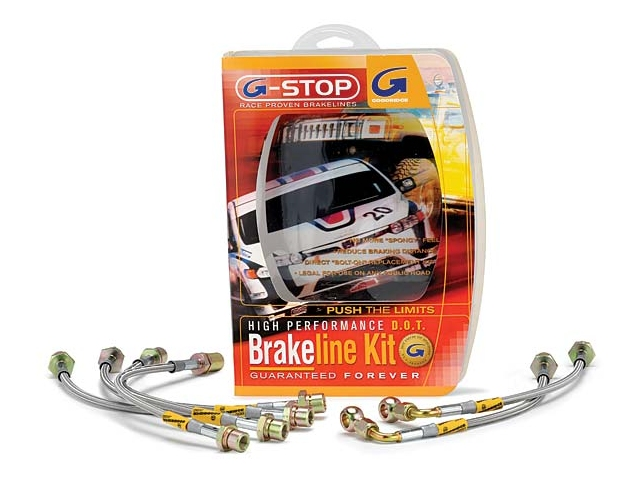 GOODRIDGE G-STOP HIGH PERFORMANCE D.O.T. Brakeline Kit (1999-2004 Mustang SVT Cobra)