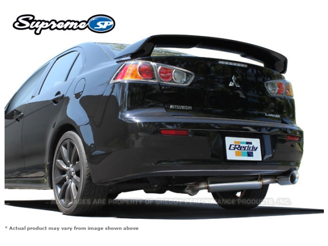 GReddy Supreme SP Axle-Back Exhaust (2008-2011 Lancer GTS)