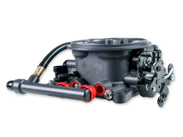 Holley EFI Terminator Throttle Body, Hard Core Grey