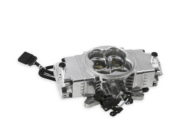 Holley EFI TERMINATOR EFI 2x4 Throttle Body, Polished