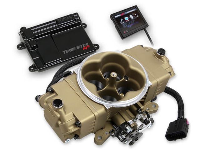 Holley EFI Terminator Stealth EFI Master Kit, Classic Gold