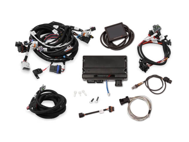 holley efi terminator x max mpfi kit w/ transmission control (gm ls1 & ls6