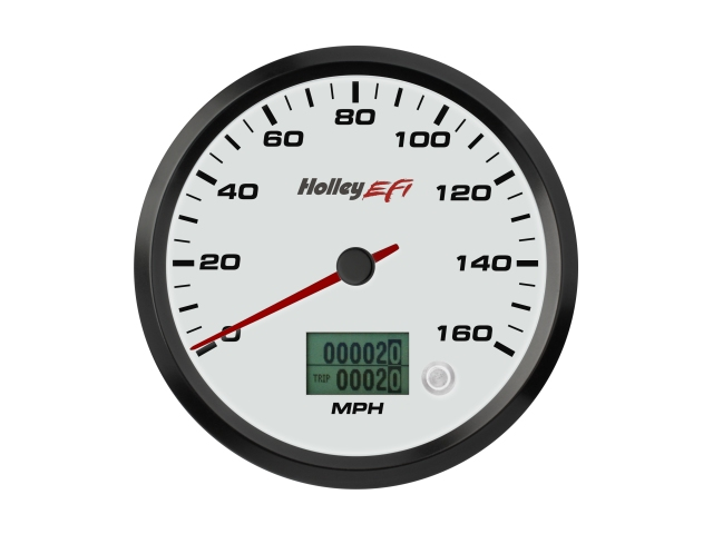 "Holley EFI CAN Speedometer, 4-1/2"" (0-160 MPH)"