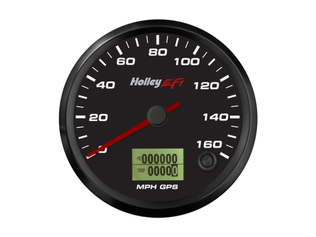"Holley EFI CAN GPS Speedometer, 3-3/8"" (0-160 MPH)"