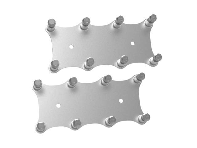 Holley EFI Remote Gen III LS Coil Relocation Brackets, Natural