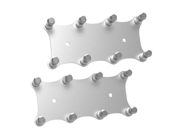 Holley EFI Remote Gen IV LS Coil Relocation Brackets, Natural