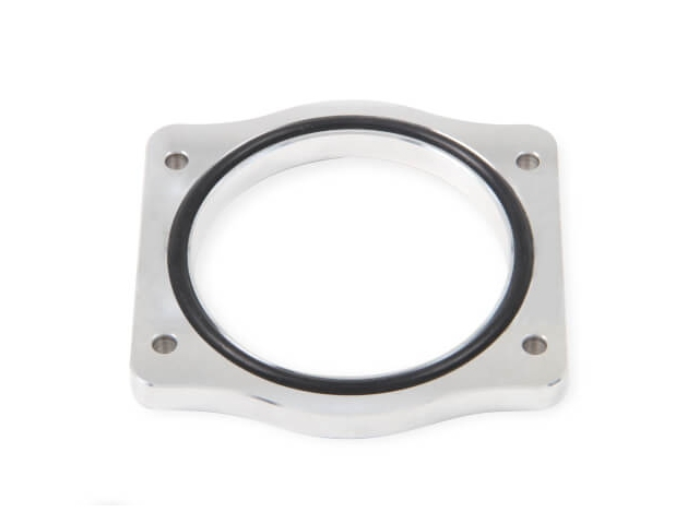 Holley EFI SNIPER EFI Throttle Body Spacer, Silver (2011-2015 Mustang GT)