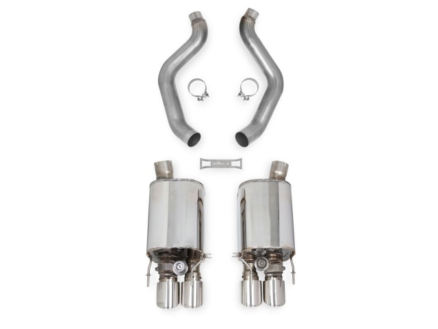 HOOKER BLACKHEART Axle-Back Exhaust w/ Dual Mode (NPP) (2005-2008 Corvette LS2 & LS3)