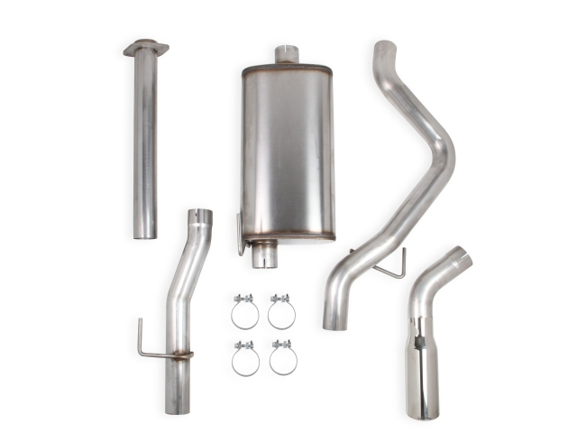 HOOKER BLACKHEART Cat-Back Exhaust (2009-2010 F-150 4.6L & 5.4L MOD)