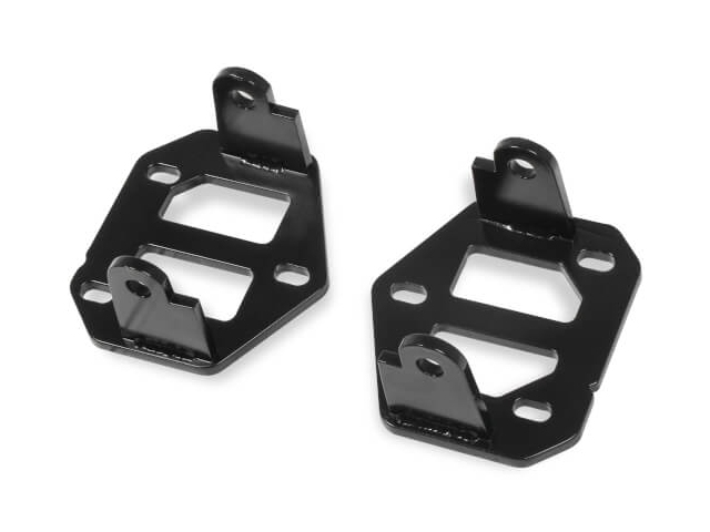 HOOKER BLACKHEART Engine Mount Brackets (1982-2004 GMC S-10 & Sonoma LS)