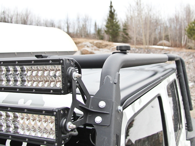 MBRP Roof Rack Extension (2007 2015 JEEP Wrangler JK)