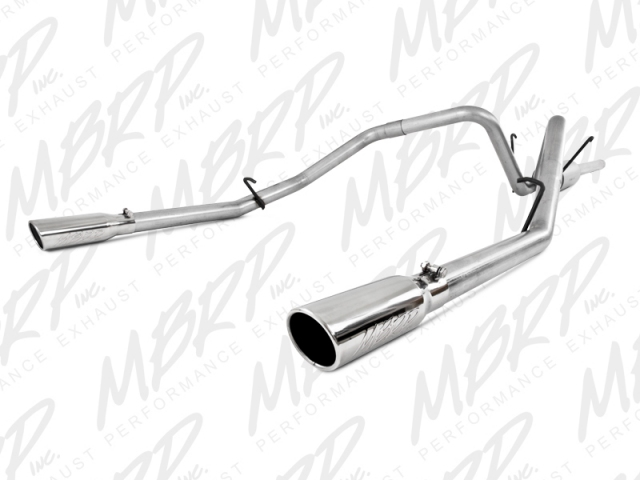 MBRP Installer Series Cat-Back Exhaust (2006-2008 RAM 1500 5.7L HEMI)