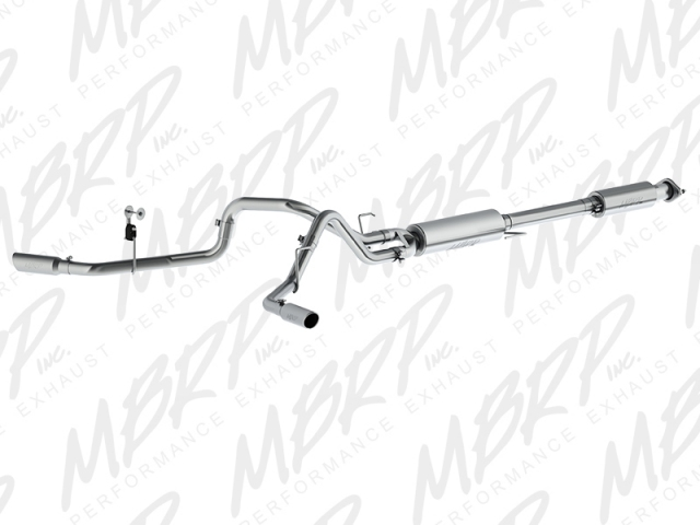 MBRP Installer Series Cat-Back Exhaust (2015 F-150 5.0L)
