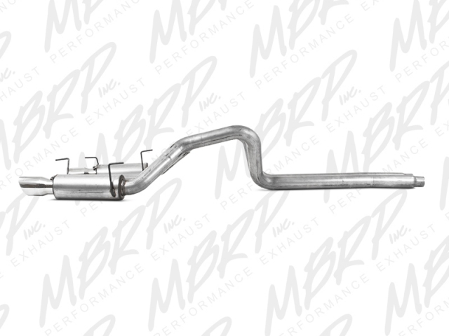 MBRP Installer Series Cat-Back Exhaust (2007-2010 Mustang Shelby GT500)