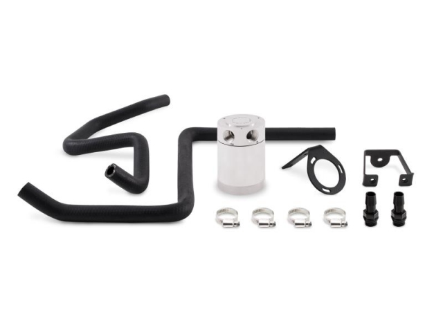 MISHIMOTO Direct-Fit Catch Can Kit, Polished (2005-2014 Chrysler 300C & Dodge Charger 5.7L HEMI)