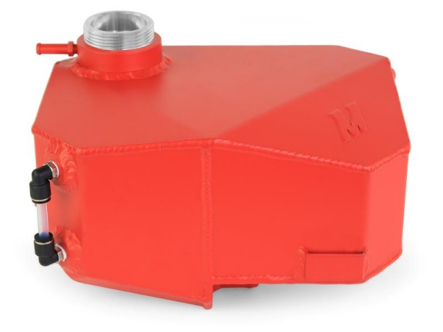 MISHIMOTO Aluminum Expansion Tank, Wrinkle Red (2013-2018 Focus ST & RS)
