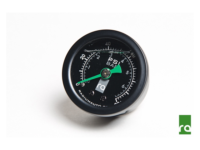 radium ENGINEERING Fuel Pressure Gauge (0-100 PSI)