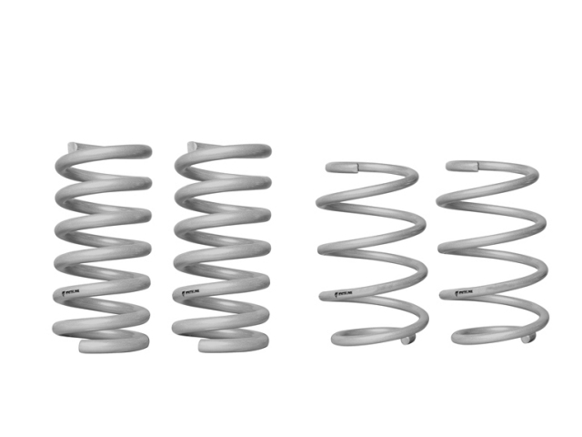 WHITELINE Front & Rear Coil Spring - Lowering Kit (2015-2017 Mustang 2.3L EcoBoost & 3.7L CYCLONE)